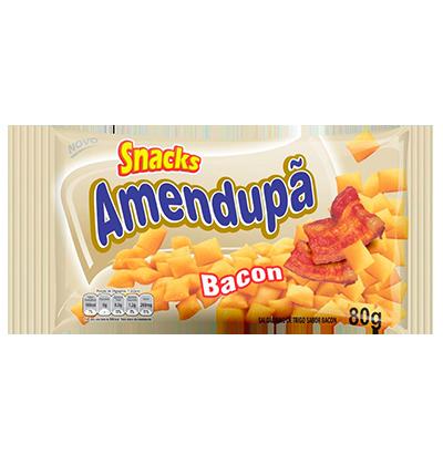 Salgadinho de Trigo Sabor Bacon